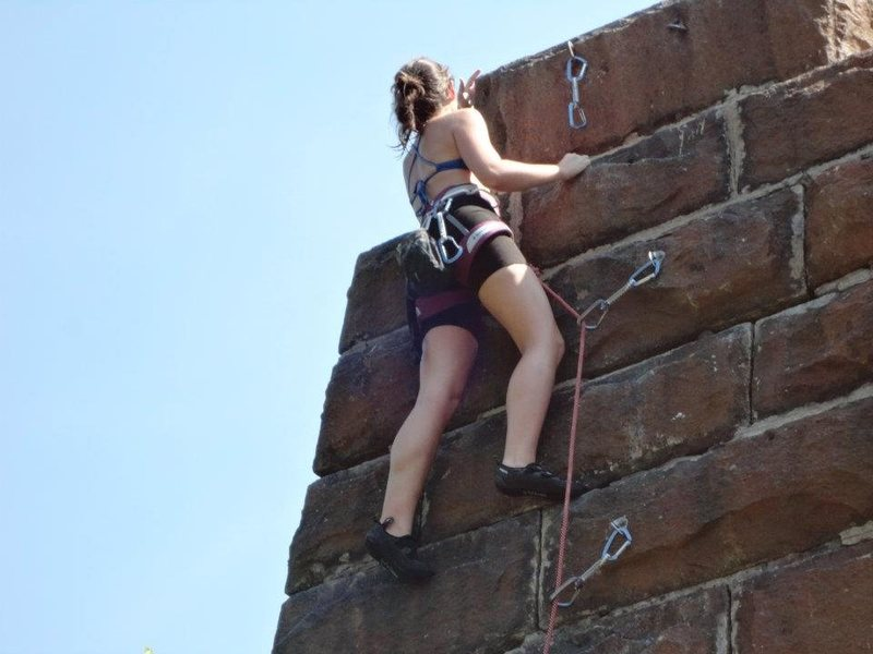 Rock Climbing Photo: Bolts from Heaven -- bolted specifically to teach ...