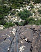 Rock Climbing Photo: 2nd pitch Solar Flare