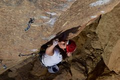 Rock Climbing Photo: vicious fish lower crux