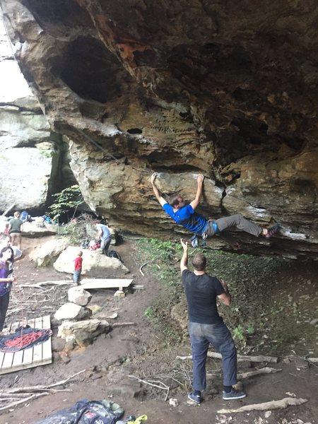 Super fun cave traverse