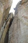 Rock Climbing Photo: Wall of Horns