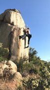 Rock Climbing Photo: Good height to this one