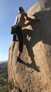 Rock Climbing Photo: one more lap