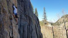 Rock Climbing Photo: Good warm-up, great views.