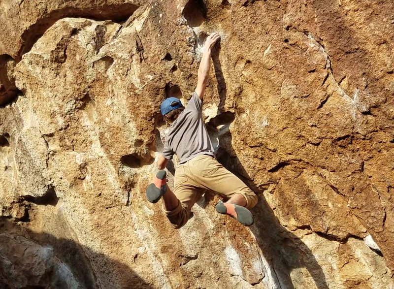 Rock Climbing Photo: A good problem for dramatically cutting feet.