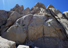 Rock Climbing Photo: Frontside view of One Man's Junk Is Another Ma...