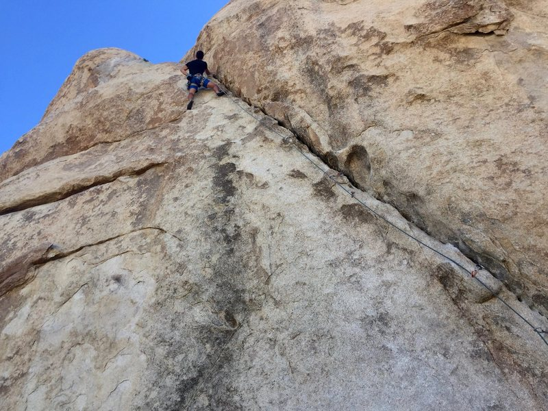 Rock Climbing Photo: Chris Janiszewski onsight/flashing Left Ski Track