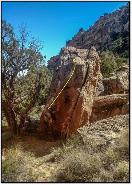 Rock Climbing Photo: Mesa Was Sold On a Monday.