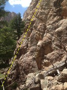 Rock Climbing Photo: Another view of the start of the route.
