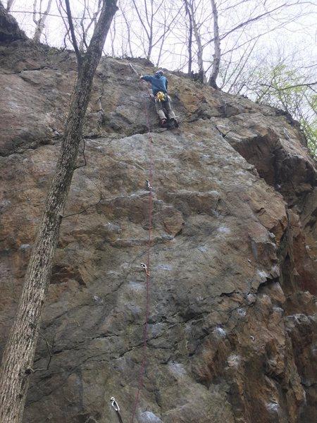 Rock Climbing Photo: 4-22-17