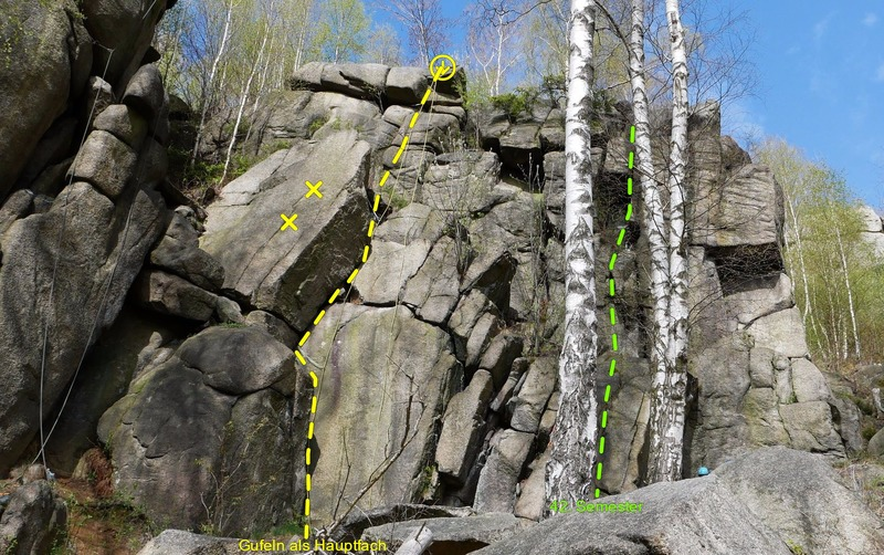 Rock Climbing Photo: right part of the crag