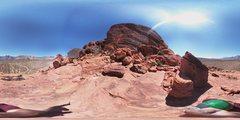 Rock Climbing Photo: 360 OF MAGIC BUS.  No viewer in Mountain Project.