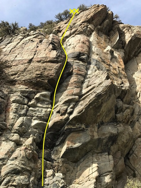 Rock Climbing Photo: GSW 5.10a