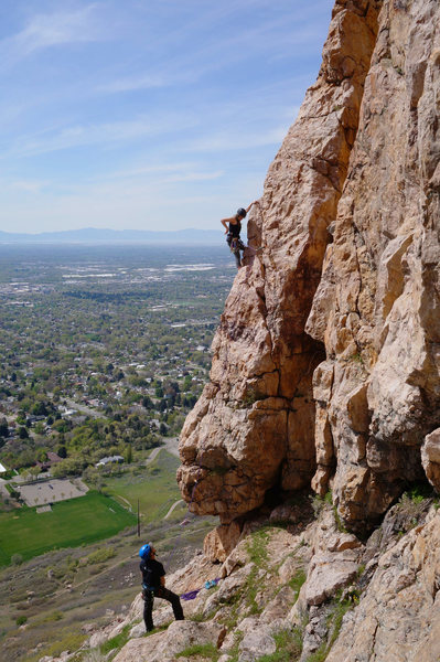 Rock Climbing Photo: The view doesn't get much better.
