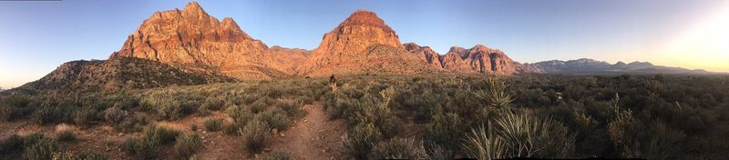 Rock Climbing Photo: Dawn Spread