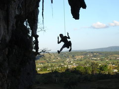 Rock Climbing Photo: Peace from Joanie
