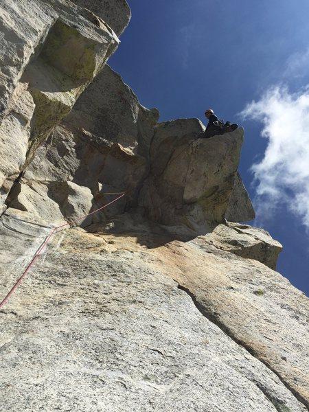 Rock Climbing Photo: Traitor Horn, Tahquitz