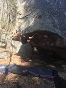 Rock Climbing Photo: Up In Smoke
