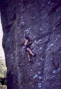 Rock Climbing Photo: Low (2nd bolt) on P.O.D.