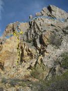 Rock Climbing Photo: Once at the top of the route look to the right for...