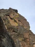 Rock Climbing Photo: Standing-On-Rock, P2