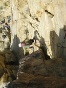 Rock Climbing Photo: Just before the final 3rd. Lots of places for prot...