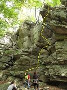 Rock Climbing Photo: The Flake