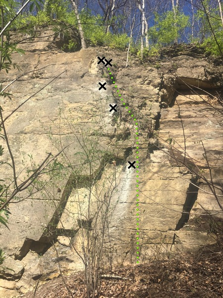 Rock Climbing Photo: Giant Steps