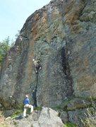Rock Climbing Photo: The Erie classic, Sun Kissed.  Matt Perkins photo