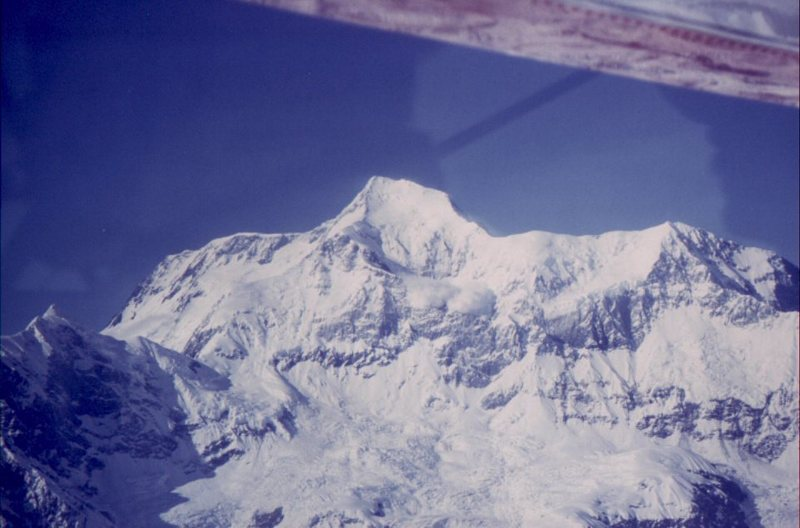 Rock Climbing Photo: Flying in to St Elias