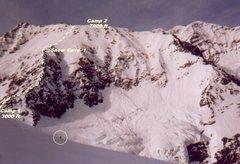 Rock Climbing Photo: Base to the shale ridge, SF Mt St Elias
