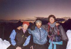 Rock Climbing Photo: Hard fun on St Elias with Rich Rinaldi and Bobby D...