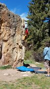 Rock Climbing Photo: Pairs well with Black Crack.