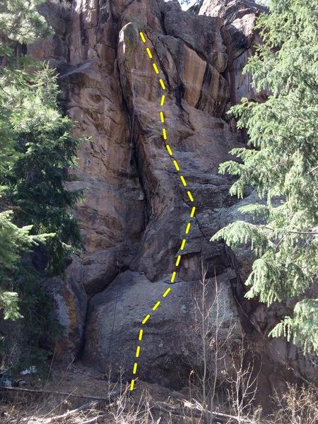 Rock Climbing Photo: Grease the Tracks