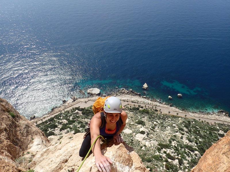 Rock Climbing Photo: Espana