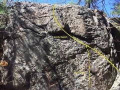 Rock Climbing Photo: Cavity Search.