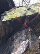 """Rock Climbing Photo: """"Rivers Run"""" is the left line, the right..."""