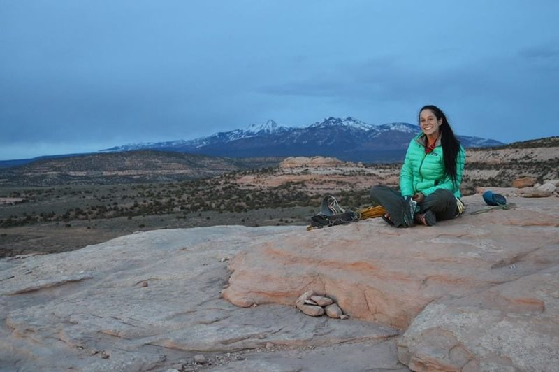 Rock Climbing Photo: On top of Looking Glass (Moab, Utah)