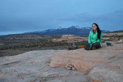 On top of Looking Glass (Moab, Utah)