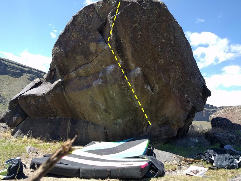 Rock Climbing Photo: Inbred