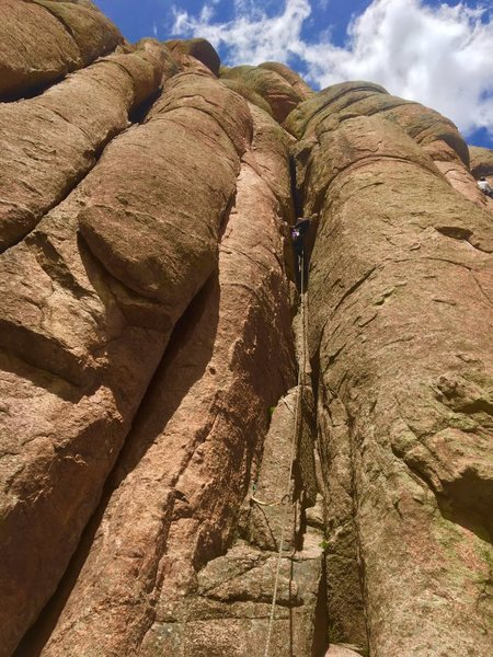 Rock Climbing Photo: Chicken leg.