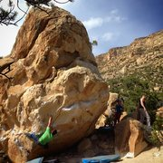 Rock Climbing Photo: Stumble Bum Traverse
