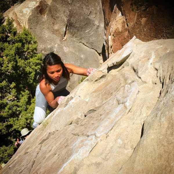 Rock Climbing Photo: Pimpin' Jeans