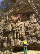 Rock Climbing Photo: At the dirty ledge.