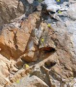 Rock Climbing Photo: Fun Factory (5.9 R), Riverside Quarry