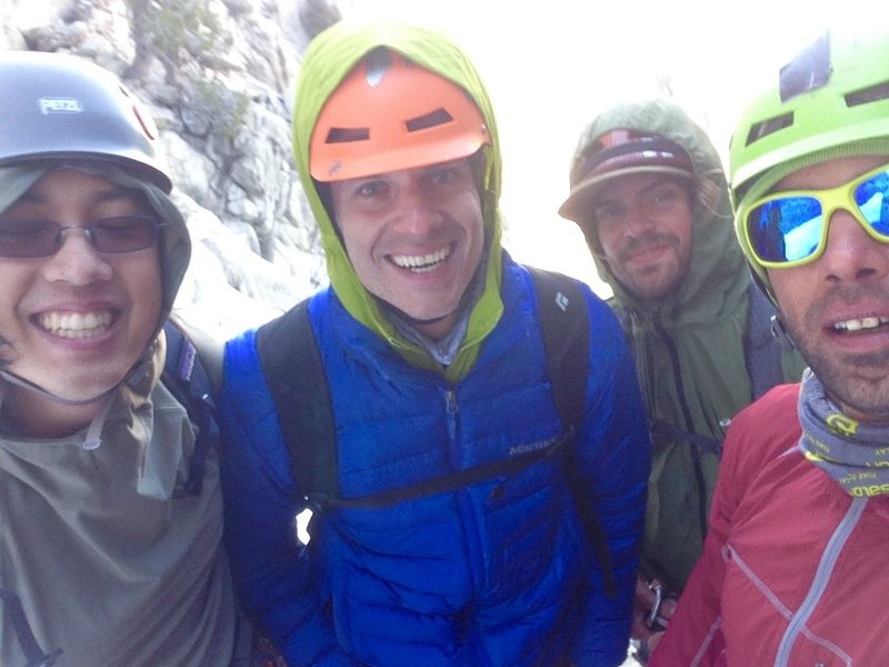 Rock Climbing Photo: Alpine Friendships!!!