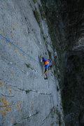 Rock Climbing Photo: Working el Sendero Luminoso