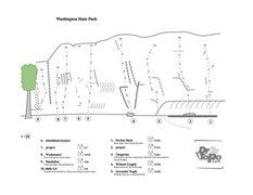 Rock Climbing Photo: Washington S.P. Overview