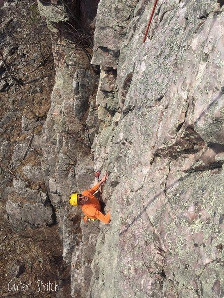 Maddog climbing Bypass.