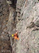 Rock Climbing Photo: Maddog climbing Bypass.